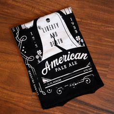 Warren Peace Brewing beer shirt designed by Doug Penick.