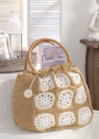 Free crochet pattern - shopping bag or holdall