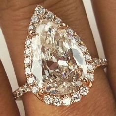 Are you a fan of the #pear shaped #diamond #engagement #ring?! Sure seems gorgeous!#boudoirphotography #travel #travelbug #food #wine #wedding #bride #luxury #luxurytravel #chicagorealestate #chicago #california #engagement #chicagowedding #bolingbrook #glenview #bartlett #engagementring #diamondsareagirlsbff #willyoumarryme #ido #fiance #weddingproposal