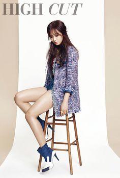 Yuri in High Cut Magazine