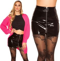Latex, Leather Skirt, Skirts, Fashion, Fashion Styles, Moda, Leather Skirts, Skirt