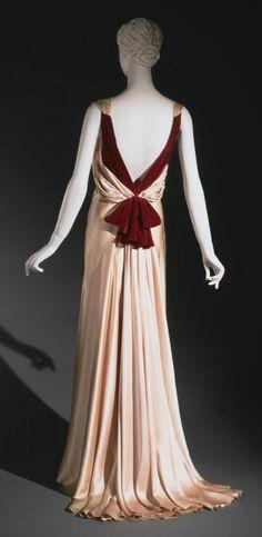 Dress Augustabernard, 1933 The Philadelphia Museum of Art