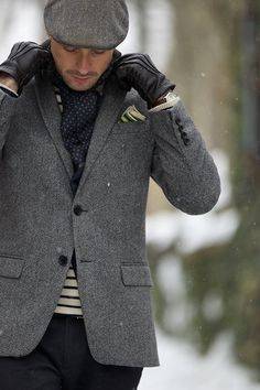Winter Layers // http://hespokestyle.com/winter-layers/
