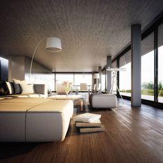 Lichtecht: Architektur- und 3D-Visualisierungen aus Hamburg Labacaho House Reinterpreted