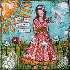 she art canvas - Google Search
