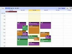 Tutorial del Curso Básico Google Apps - Calendar - YouTube