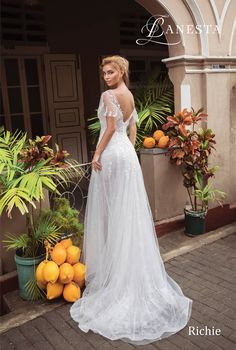 RICHIE wedding dress by LANESTA Collection 2018 ONLY at Charmé Gaby Bridal Gown boutique Clearwater FL