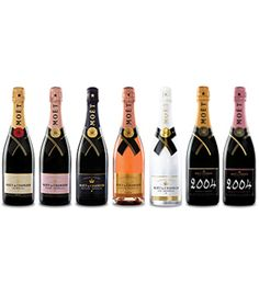 Moet Champagne - all of them!