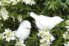 Image of NEW Pair of Porcelain Birds