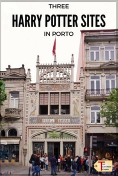 Three Harry Potter Porto Sights to See Learn about the connection between Harry Potter and Porto, Portugal by visiting three sites that may have influenced JK Rowling. Places In Portugal, Visit Portugal, Spain And Portugal, European Destination, European Travel, Europe Travel Tips, Travel Guides, Algarve, Wanderlust