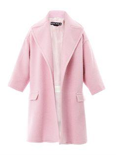 Felted cazantino wool coat Rochas, $1,542