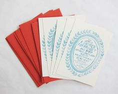Oh So Beautiful Paper: Hand Lettered Baby Shower Invitations by Scout's Honor Co.