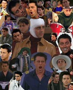 Many faces of Joey Tribbiani Friends Tv Show, Joey Friends, Serie Friends, Friends Cast, Friends Moments, I Love My Friends, Friends Forever, Best Friends, Joey Tribbiani