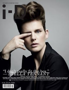 The Best of British Issue No. 297 March 2009 Stella Tennant by Sølve Sundsbø