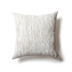 """Rebecca Atwood Waves Pillow - 18"""" x 18"""""""