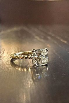 18 Dazzling Diamond Engagement Rings Of Her Dreams ❤️ Here you will find different styles of diamond engagement rings of her dreams. See more: http://www.weddingforward.com/diamond-engagement-rings/ #wedding #diamond #engagement #rings