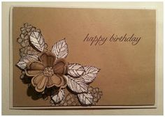 artful stampin': {3 Colours and 1 Stamp Set - Birthday Blossoms}