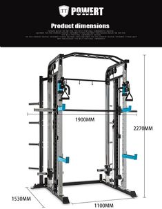 New design power rack functional trainer body building Homemade Gym Equipment, Diy Gym Equipment, Commercial Fitness Equipment, No Equipment Workout, Home Gym Basement, Diy Home Gym, Gym Room At Home, Gym Design, Fitness Design