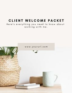 New Client Welcome Packet Client Onboarding Client Welcome Survey Template, Checklist Template, Templates, Onboarding Checklist, Page Table, Welcome Packet, Blog Banner, About Me Page, Business Branding