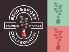 Bridgeport Farmers Market Collaborative logo design by Abelardo Pulido