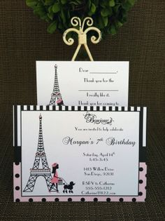 Hey, I found this really awesome Etsy listing at http://www.etsy.com/listing/94243214/12-custom-paris-theme-birthday-party