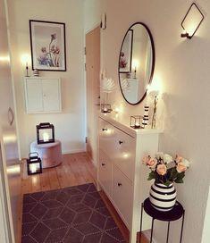 (notitle) - Home & Deco - Apartment Interior, Interior Design Living Room, Living Room Decor, Bedroom Decor, Hallway Decorating, Entryway Decor, Flur Design, House Entrance, Home And Living