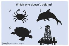 Environment Cartoons: Which One Doesn't Belong?
