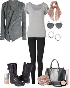"""Happy When Skies are Gray"" by pamnken on Polyvore"