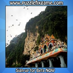 #Birds flying over the #Indu #Temple in #Malaysia!  You will #play with this #photo with #friends in:  #PuzzleFix the new #game for #Android ! ________________  Visit http://www.puzzlefixgame.com and signup for #BETA! ________________  #animals #asia #photography #galaxy #nexus #next #playmarket #app #apps #puzzle #videogames #fun #instalike #instaphotos #picoftheday
