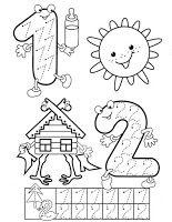 Preschool and Homeschool Kids Math Worksheets, Preschool Learning Activities, Preschool Lessons, Kindergarten Math, Preschool Activities, Teaching Kids, Kids Learning, Numbers Preschool, Math Numbers