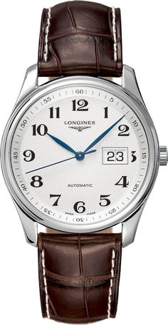 L2.648.4.78.3 NEW LONGINES MASTER COLLECTION MENS WATCH IN STOCK - See Our Clearance Sale - FREE Overnight Shipping | Lowest Price Guaranteed - No Sales Tax (Outside California) - With Manufacturer Serial Numbers- Silver Dial with Barleycorn Pattern- Big Date Feature- 42 Hour Power Reserve- Self Winding Automatic Movement- Longines Caliber L607- Vibrations Per Hour: 28,800- Jewels: 21- 3 Year Warranty- Guaranteed Authentic- Certificate of Authenticity- Scratch Resistant Sapphire Cry...