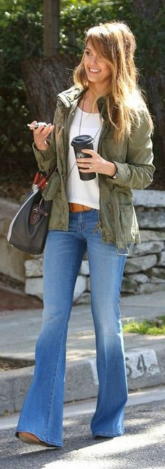 chunky sweater   bell bottoms. | Fashion | Pinterest | Bell bottom ...