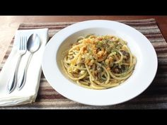 (11) Pasta con le Sarde - How to Make Sicilian-Style Pasta with Sardines and Fennel - YouTube