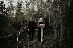Moody + Masked: Halloween-Worthy Engagement Session in the Woods - Green Wedding Shoes - Engagement Inspiration Engagement Photo Inspiration, Wedding Photography Inspiration, Engagement Pictures, Engagement Shoots, Engagement Photography, Engagement Wishes, Wedding Inspiration, Country Engagement, Employee Engagement