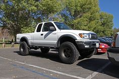 Went from this (Purchased a double cab in to replace it. 1997 Toyota Tacoma, Toyota 4x4, Toyota 4runner, Tacoma Wheels, Tacoma Truck, Tacoma X Runner, Future Trucks, Cars, 4x4 Trucks