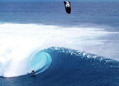 Kite Surfing in Fiji