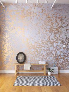 Entryway wallpaper