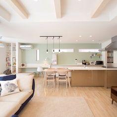 Cafe Interior Design, Kitchen Interior, Interior Design Living Room, Kitchen Design, Small Apartment Living, Small Apartment Decorating, Muji Home, Japanese Home Design, My Ideal Home