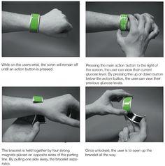Gluco(M) Wristband Monitors Your Blood Glucose Levels