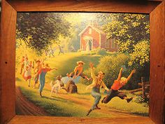 My second favorite PAUL-DETLEFSEN painting.  Like this frame the best too.