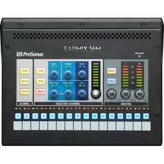 With the EarMix Presonus offers an AVB Personal Monitor Mixer specially designed for the StudioLive Series III consoles. Daisy Chain, Bass, Network Monitor, In Ear Monitors, Signal Processing, Hardware Software, Digital Audio, Tag Design, Cool Things To Buy