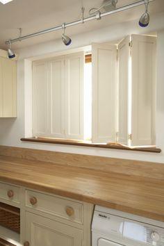 TNESC Solid Shaker Shutter Design. Kitchen Shutters, Wooden Window Shutters,  Indoor Shutters,