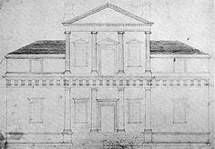 Monticello original front elevation drawing 1771 - Fiske Kimball - Wikipedia, the free encyclopedia