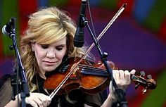 #AlisonKrauss & #UnionStation perform at the New Orleans Jazz & Heritage Festival in New Orleans April 30. (AP Photo/Gerald Herbert) #Pollstar