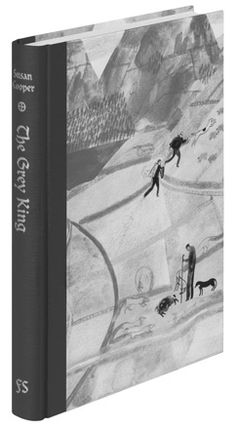 The Grey King by Susan Cooper - Folio Society edition Book Cover Design, Book Design, Susan Cooper, Book And Magazine, Magazine Covers, King Book, Collage Illustration, Inspirational Books, Fiction Books