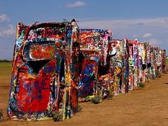 Cadillac Ranch, Amarillo, TX - does anyone have a can of spray paint?
