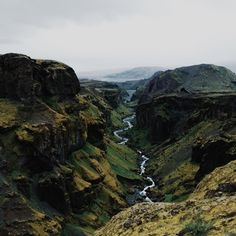 Thorsmork, Iceland.