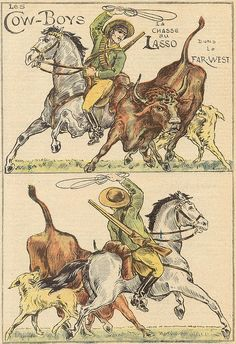 cow boys 2 by pilllpat (agence eureka), via Flickr