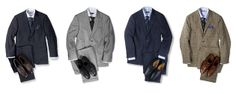 The 4 essential suits a man should have, according to Esquire.