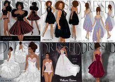 PUBLICIDAD Y MARKETING PARA SECOND LIFE: Vestidos de fiesta y ocasiones de regalo!!